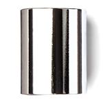 Dunlop 221 Chromed Steel Slide, Medium Wall Thickness-Medium