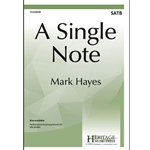 A Single Note  Mark Hayes