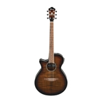 Ibanez AEG19LIITIB Acoustic Guitar Lefty, Tiger Burst