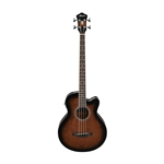 Ibanez AEB10E Acoustic-Electric Bass Dark Vintage Sunburst