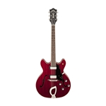 Guild Starfire IV, Semi-Hollow Electric Guitar, Cherry Red