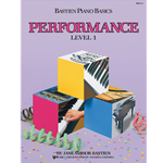Bastien Piano Basics: Performance - Level 1