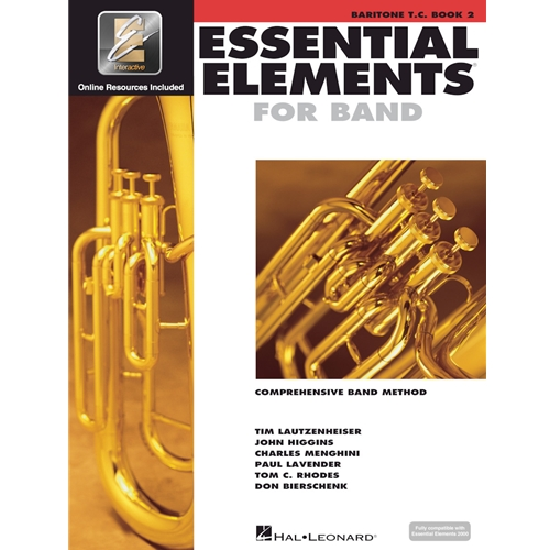 Essential Elements for Band - Baritone TC Book 2