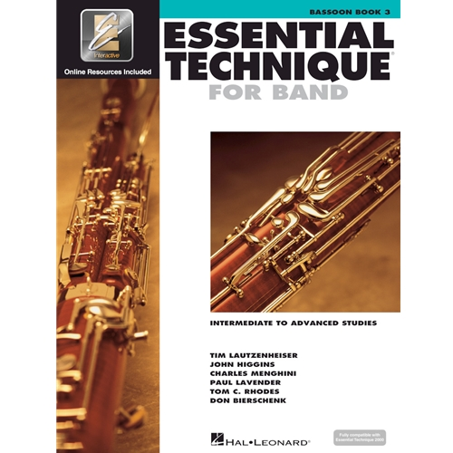 Essential Technique for Band - Bassoon Book 3