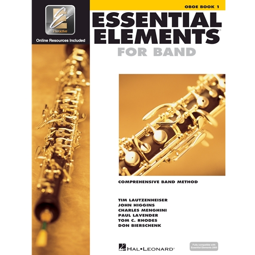 Essential Elements for Band - Oboe Book 1