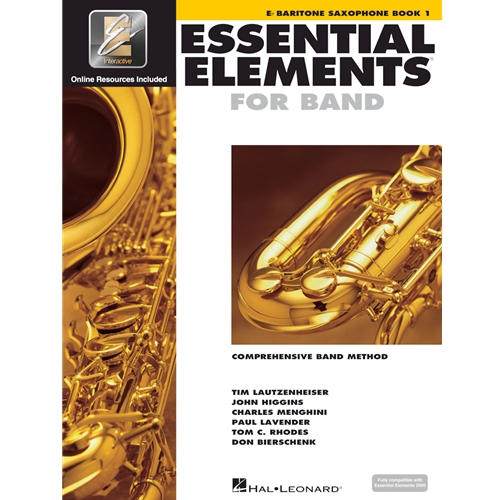 Essential Elements for Band - Bari Sax Book 1