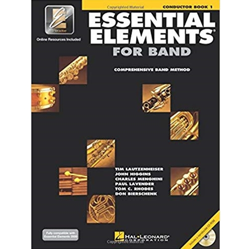 Essential Elements for Band - Conductor Book 1