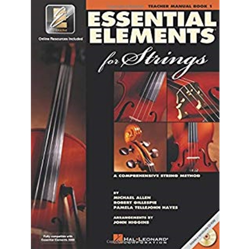 Essential Elements for Strings - Teacher Manual Book 1