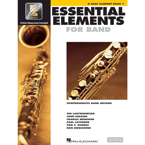Essential Elements for Band - Bass Clarinet Book 1