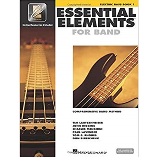 Essential Elements - Electric Bass Book 1