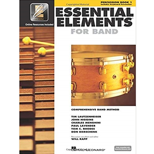 Essential Elements for Band - Percussion/Keyboard Book 1