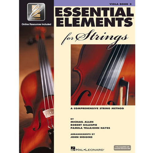 Essential Elements for Strings - Viola Book 2