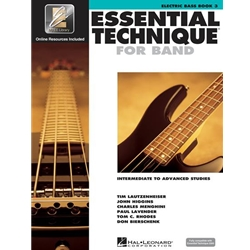 Essential Technique for Band - Electric Bass Book 3