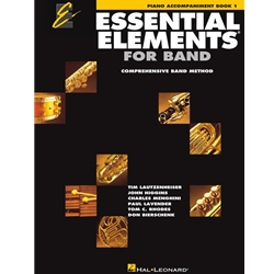 Essential Elements for Band - Piano Accompaniment Book 1