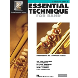 Essential Technique for Band - Trumpet Book 3