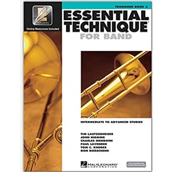 Essential Technique for Band - Trombone Book 3