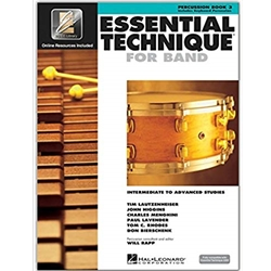 Essential Technique for Band - Percussion/Keyboard Book 3
