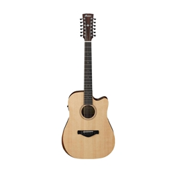 Ibanez AW152CE 12 String Open Pore Natural