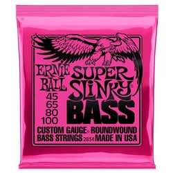 Ernie Ball Super Slinky 2834 Roundwound Electric Bass Strings