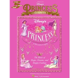 Selections from Disney's Princess Collection Vol. 1 - 5 Finger Piano