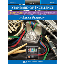 Standard of Excellence: Baritone Book 2