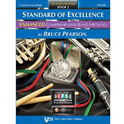 Standard of Excellence: Baritone Saxophone Book 2