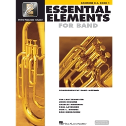 Essential Elements - Baritone Book 1