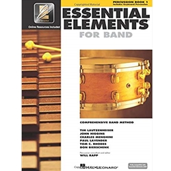Essential Elements - Percussion/Keyboard Book 1