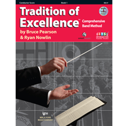 Tradition of Excellence: Conductor Score Book 1