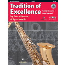 Tradition of Excellence: Bb Tenor Saxophone