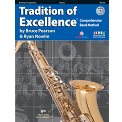 Tradition of Excellence: Bb Tenor Saxophone Book 2