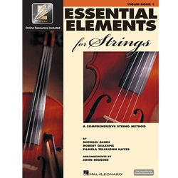Essential Elements for Strings - Book 1 VIOLIN with EEi