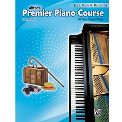 Premier Piano Course - Jazz, Rags & Blues 2A