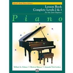 Alfred's Basic Piano Library: Lesson Book Complete Levels 2 & 3