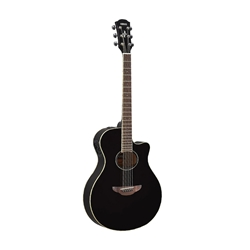 Yamaha APX600BL Thinline Acoustic-Electric Guitar (Black)