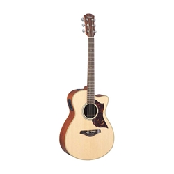 Yamaha A1M Dreadnought Cutaway - Vintage Natural